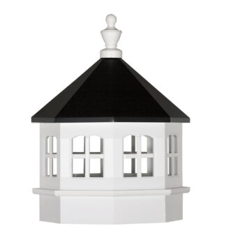 Vinyl Gazebo Cupola with Windows