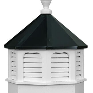 Vinyl Gazebo Cupola with Louvers