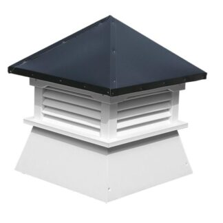 Shed Cupola with Aluminum Roof