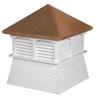 Shed Cupola with Copper Roof