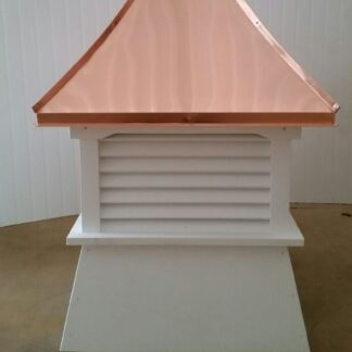 Shed Cupola With Copper Concave Roof